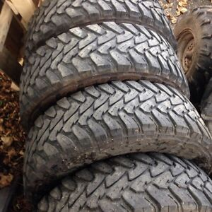 4 Truck Tires Excellent Condition  St. John's Newfoundland image 1