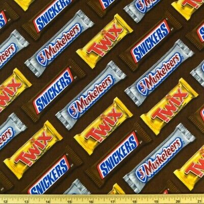 Snickers Bar Costume (SALE  100% Cotton Fabric Springs Creative Chocolate Candy Bars Snickers)