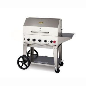 - Pro Crown Verity MCB-36 LP BBQ stove griddle Grill -