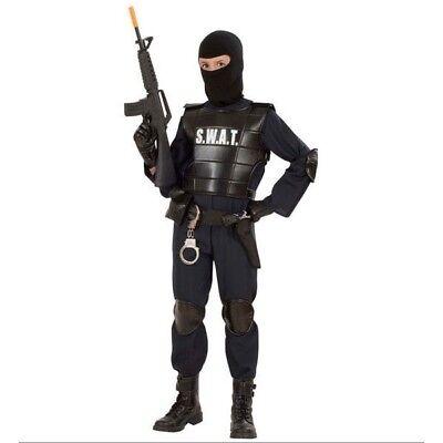 Kostüm SWAT Special Force 164 Karneval Fasching Neu (Swat Kostüm Große)
