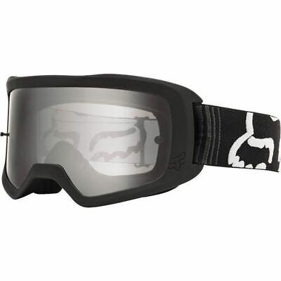 Black/Clear Fox Racing Main II Race Goggles