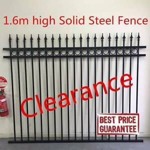 Best quality solid steel fece panel rings and spears Dry Creek Salisbury Area Preview