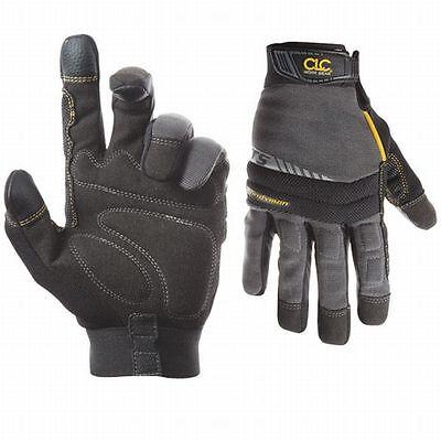 Work Gloves Custom Leather Craft Handyman Flexgrip Medium