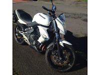 Kawasaki ER6n 650cc 2011 motorcycle