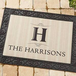 Personalized Door Mats- NL Shopaholics on Facebook St. John's Newfoundland image 2