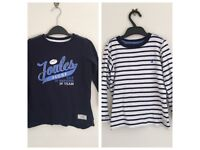 Joules Boys Tops x 2 Age 5-6