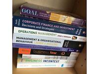 Business Management University Books