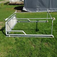 Back rack and boat rack for sale !