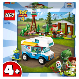 LEGO 10769 Toy Story 4 RV Vacation Truck w/ Alien Rex Forky