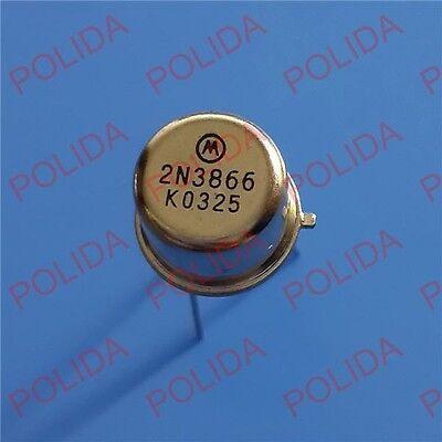 10pcs Rfvhfuhf Transistor Motorolastrca To-39 2n3866