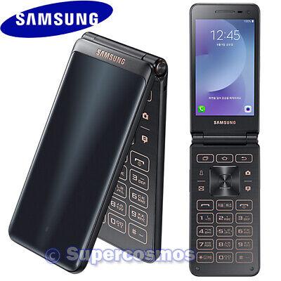 "SAMSUNG GALAXY FOLDER 2 SM-G160N 3.8"" QUAD-CORE 16GB UNLOCKED PHONE (BLACK)"