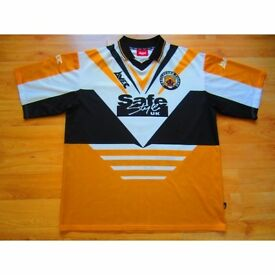 Castleford Tigers Shirt - Saftestyle Large