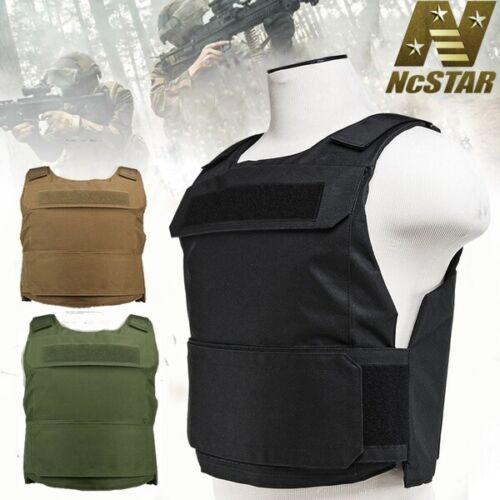 VISM Tactical Vest SWAT Lightweight Discreet Plate Carrier for Body Armor NcSTAR