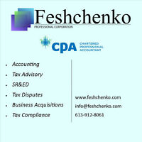 Chartered Professional Accountant Services