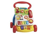 VTech First Steps Baby Walker LIKE BRAND NEW