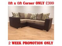 NEW DQF JULY OFFER: CORNER or 3&2 ONLY £399