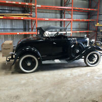 1931 Ford Model A Deluxe Roadster **Price Drop**