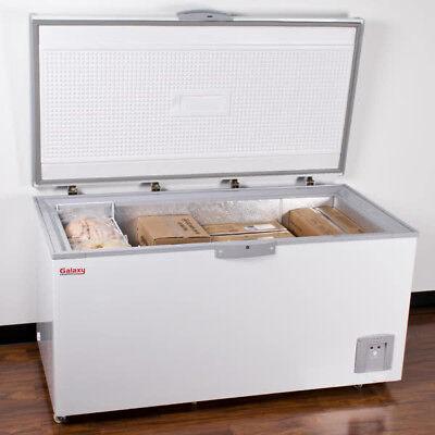 New 63 18 Cu. Ft. White Commercial Sub Zero Chest Freezer - 115 Volts