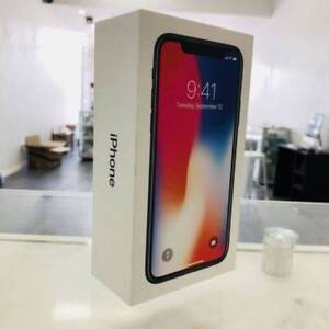 NEW IPHONE X 64GB SPACE GREY BOX UNLOCKED TAX INVOICE Surfers Paradise Gold Coast City Preview