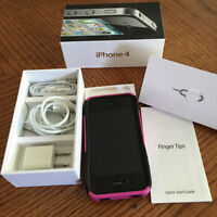I-PHONE 4 W/ ALL ACCESSORIES PLUS