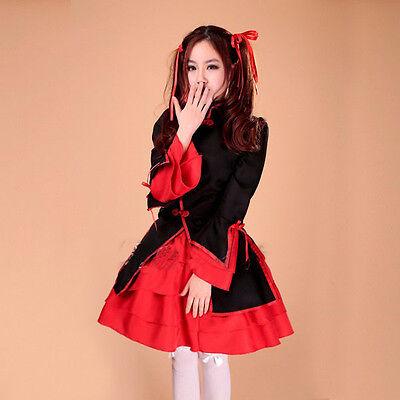 [wamami]Adult Girl Lolita Costumes Restaurant Uniforms Dress Cosplay Anime Dress
