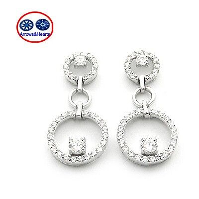 Engagement & Wedding Fine Earrings Vivi Signity Star Diamond Earring 2108
