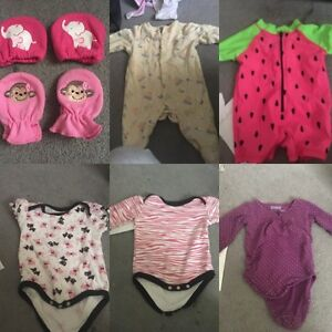 Baby girl clothes 3-12 months