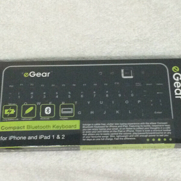 Compact Bluetooth Keyboard For iPhone And iPad