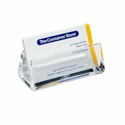 Acrylic Business Card Holder Clear