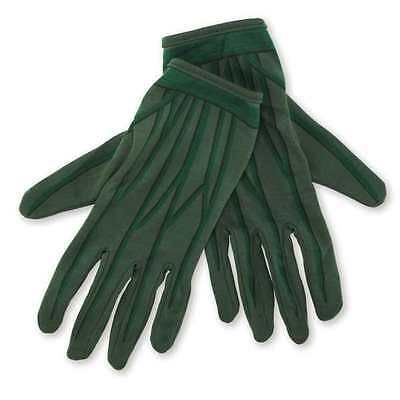 NWT Green Lantern Child Gloves Ages 6+ Costume accessory dress up play Halloween