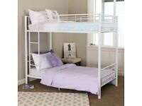 White metal bunk beds for sale