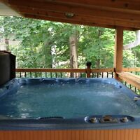 Beachcomber hot tub