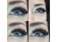 Russian Volume Eyelash Extensions, Individual Eyelash Extensions, Eyebrows Shaping and Tinting
