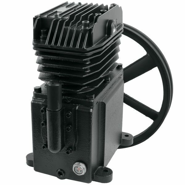 Powermate 1.9-hp Single-stage Inline-twin Replacement Air Compressor Pump (7 ...