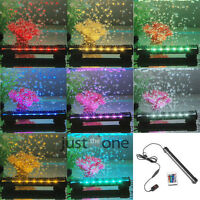 Aquarium Underwater Bubble Light Lamp +Remote