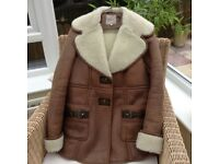 River Island Sheepskin Coat