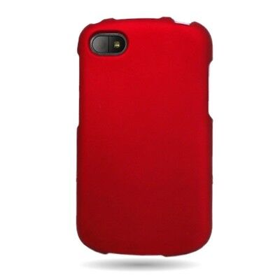 Used, Blackberry Q10 Case Matte Red Faceplate Hard Phone Cover Verizon AT&T   Sprint for sale  Shipping to India