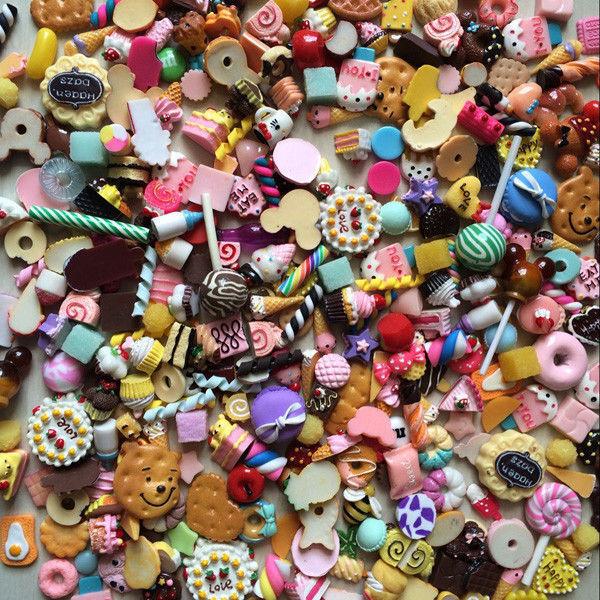 20Pcs Randomly 1/12 Mini Food Lovely Cake Biscuit Jam For Doll House