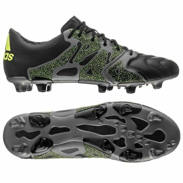 blanco lechoso viceversa Aventurero  adidas X 15.2 FG AG Leather B26961 Men's Soccer Shoes Cams Outdoor ...