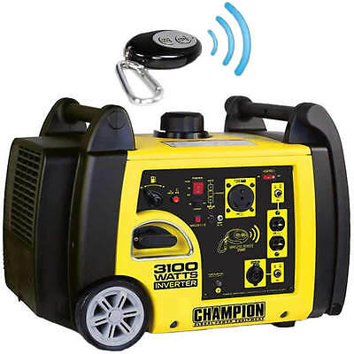 Champion 75537i - 2800 Watt Electric Start Inverter Generator W Rv Outlet ...