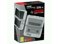 Nintendo 3DS XL - SNES Super Nintendo Limited Edition - Brand New Sealed