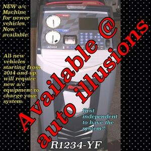 AIR CONDITION FILL R1234 YF ** ATTENTION BODY SHOPS!