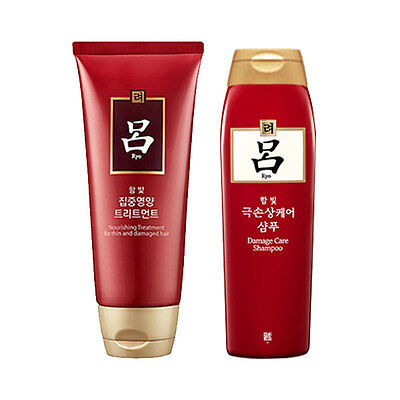[Ryo Ryoe] Damaged care shampoo 180ml/Damged care Treatment 180ml set