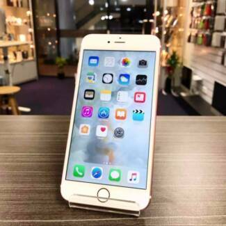 AS NEW IPHONE 6S PLUS 64GB BLK GOLD ROSE GOLD UNLOCKED WARRANTY