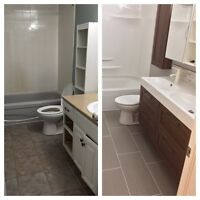 Renovation Specialist - Bathrooms, Kitchens, & Basements