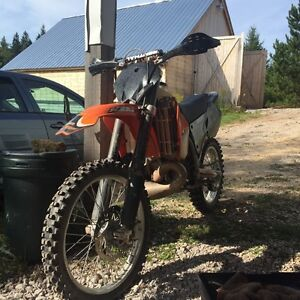 2002 ktm 200 2 stroke $2200 firm need gone ASAP