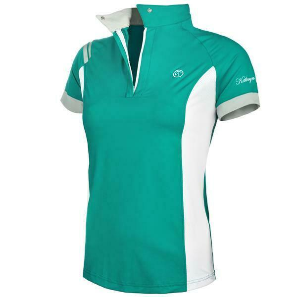Kathryn Lily Pro Air2 Childs Polo Shirt - Ocean