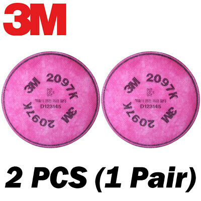 NEW 3M Genuine OEM 2097(K) Filters 2 PCS (1 Pair) for 6000, 7000, FF-400 Series
