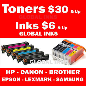 New Ink & Toner 1000s in Stock - HP Canon Brother Samsung Epson