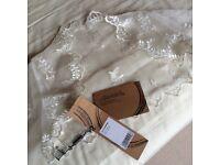 Wedding/prom lace shawl in Ivory (UK size 12-14)